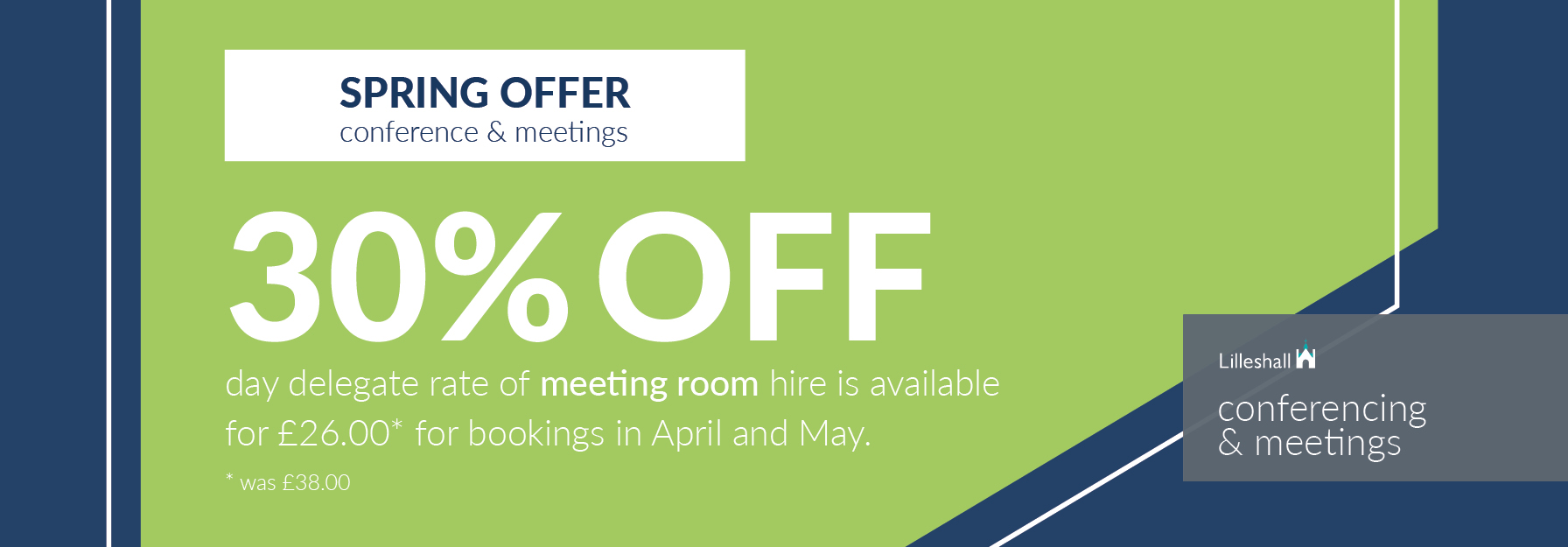 Lilleshall_Meetings_And_Conferences_Spring2019_Offer